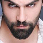 man, beard, eyes
